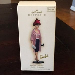 Roman Holiday Barbie Ornament